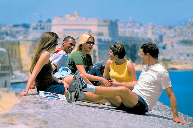 Языковые курсы за границей -Мальта