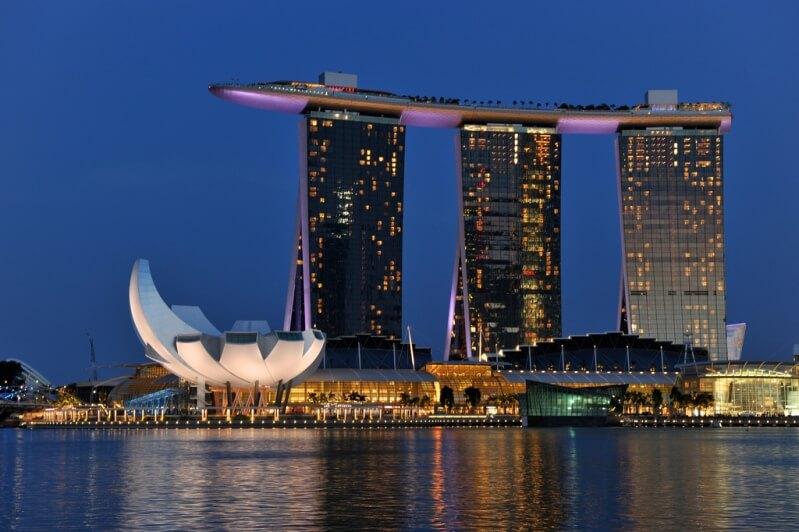 Marina Bay Sands в Сингапуре
