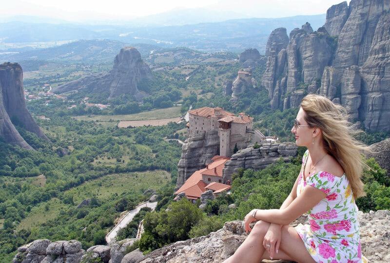 Отдых в Греции. Метеоры.