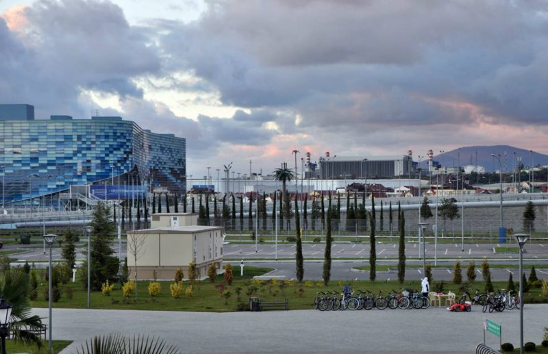 Олимпийский Парк в Сочи.
