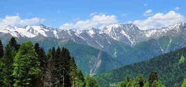Горы летом