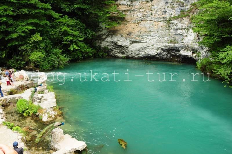 Красивое Голубое озеро