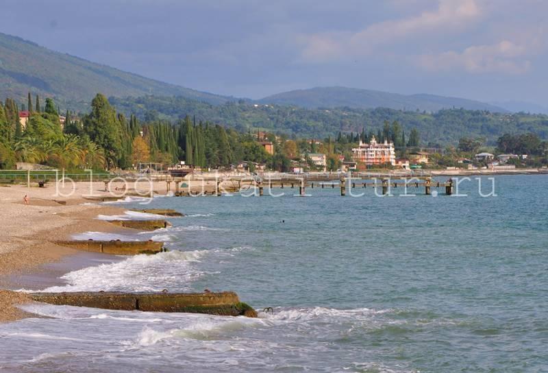 Море Новый Афон