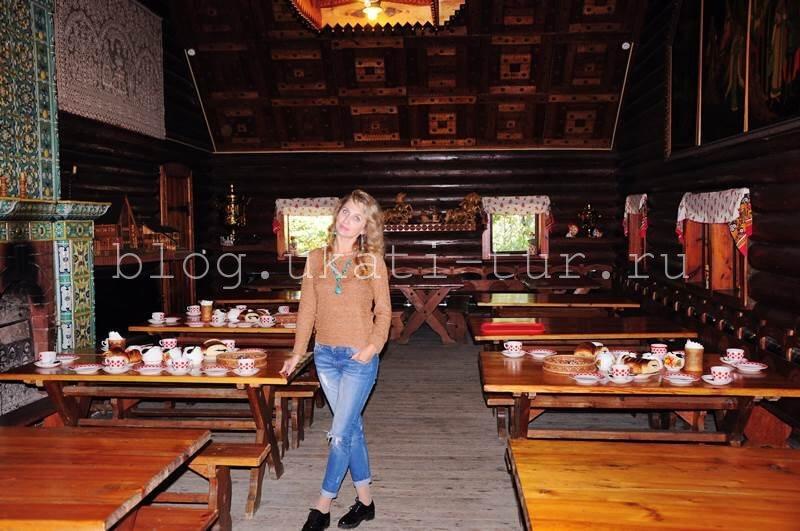 Чайный домик в Уч-Дере
