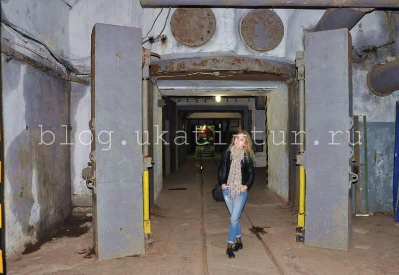 двери тоннеля