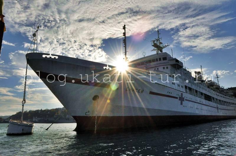 корабль Енисей