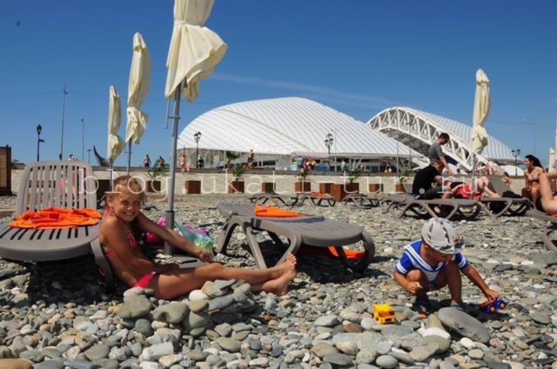пляж Имер.