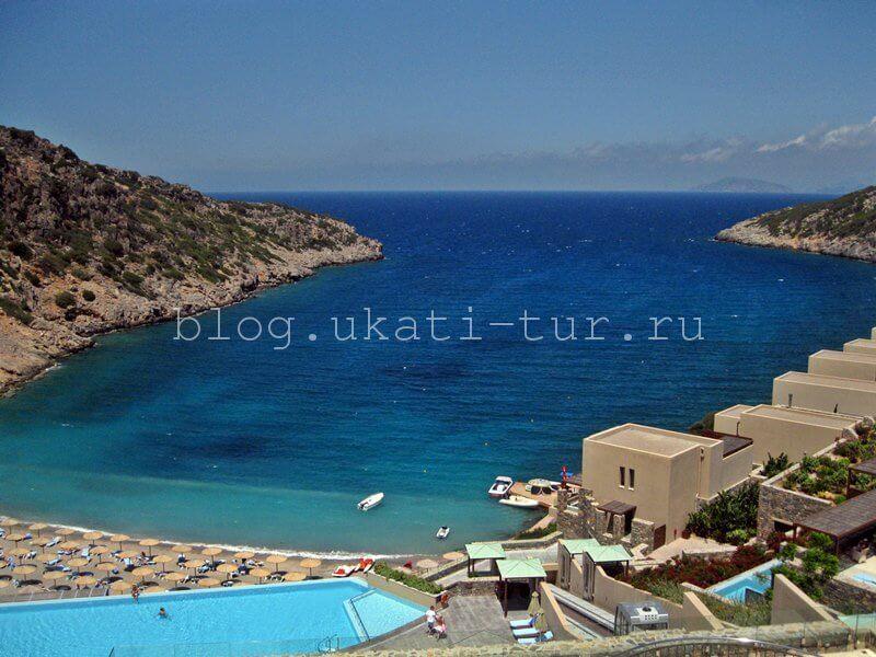 Только на Крите я видела море такого цвета