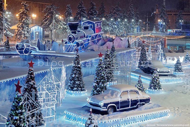 Где погулять в Москве на новогодние праздники 2019 новые фото