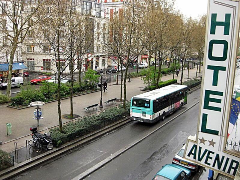 Париж Отель Avenir