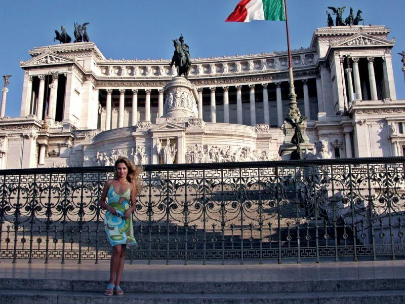 Рим.Площадь Венеции.