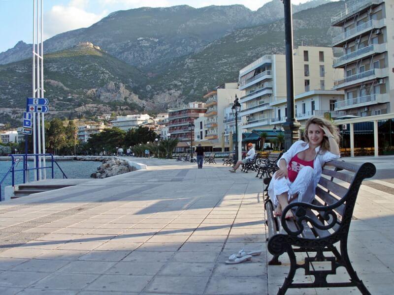 Отдых в Греции. Лутраки.