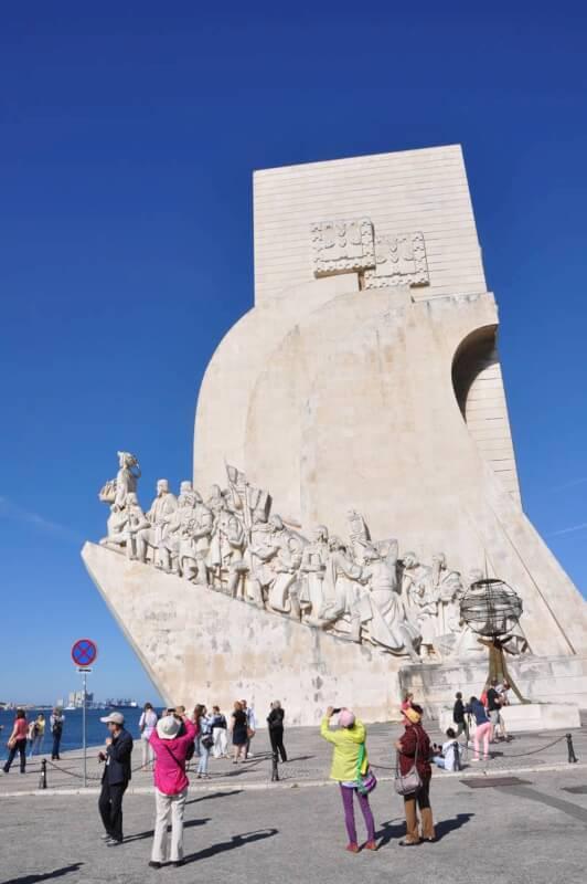 Отдых в Португалии. Монумент Первооткрывателям