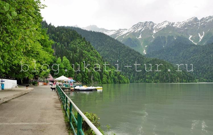 Абхазия Рица