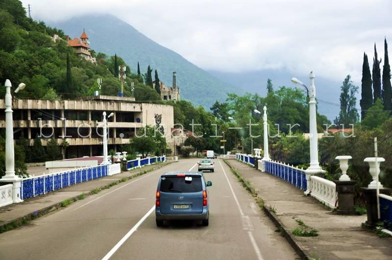 Ура въезжаем в Абхазию