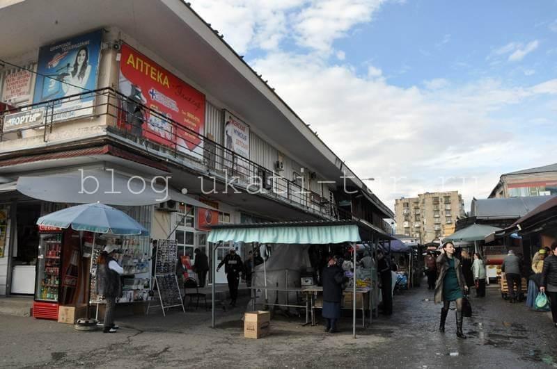 Рынок Сухума
