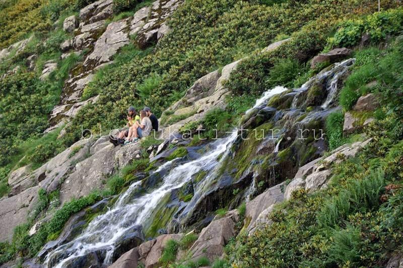 водопад Медвежий