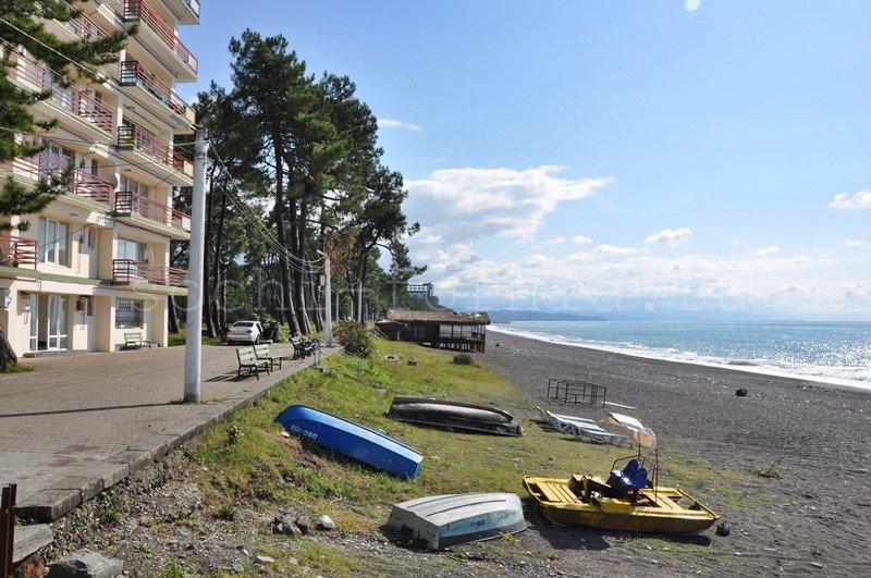 Кобулетти -пляж