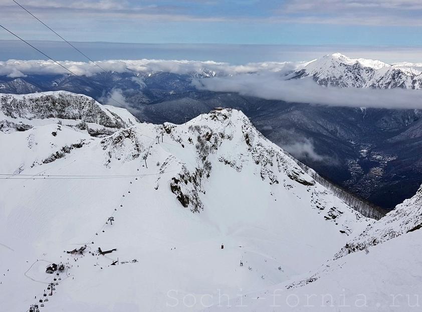 снег в горах и турнир единоборств в WOW ARENA